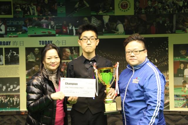 冠軍 Champion: 譚潤峰 Oliver Tam