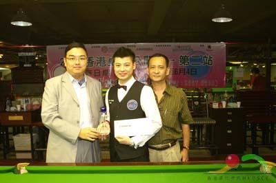 季軍 3RD PLACE : 連騰浩 ALAN LIN TANG HO