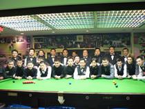 本球會開幕賽球手 2006 World Snooker Club 147 Opening Ceremony Match.